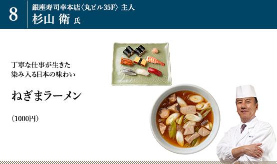 「ねぎまラーメン」(1000円)
