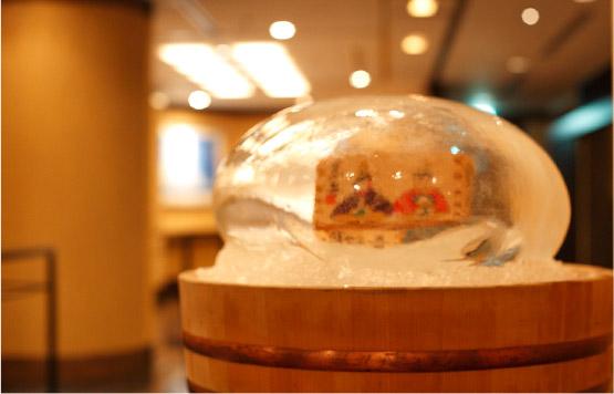 氷のドーム