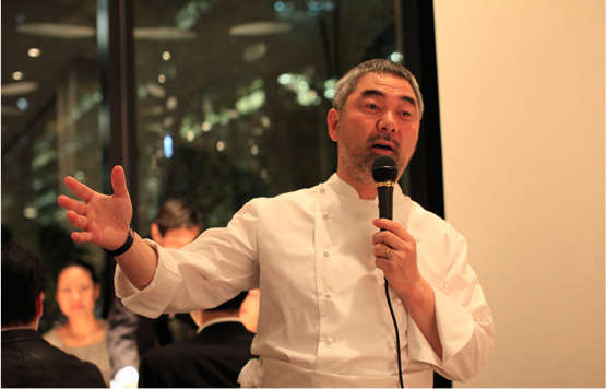 mikuni MARUNOUCHI オーナーシェフ 三國清三氏