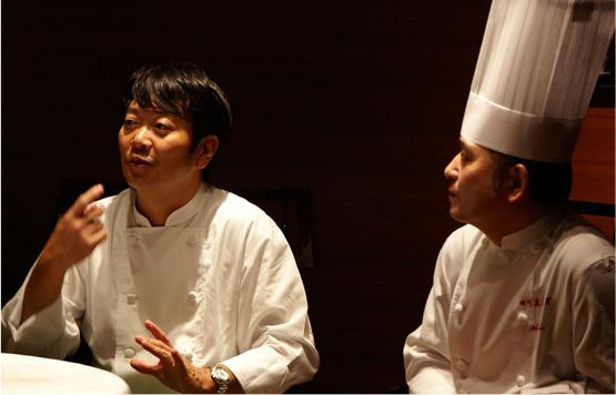 笹島シェフと遠藤シェフ