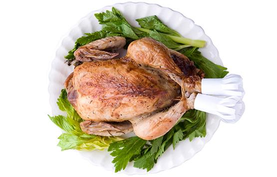 鶏の丸焼き弁当