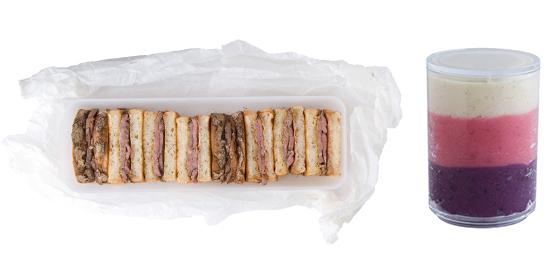 ローストビーフのサンドウィッチ弁当